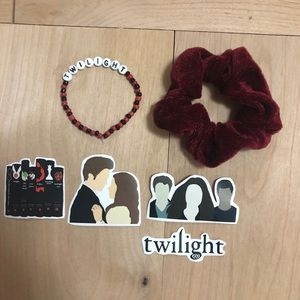 Twilight bracelet sticker scrunchie set